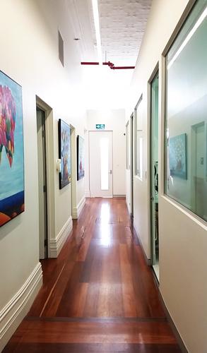 Perth Central Dental Centre Hallway